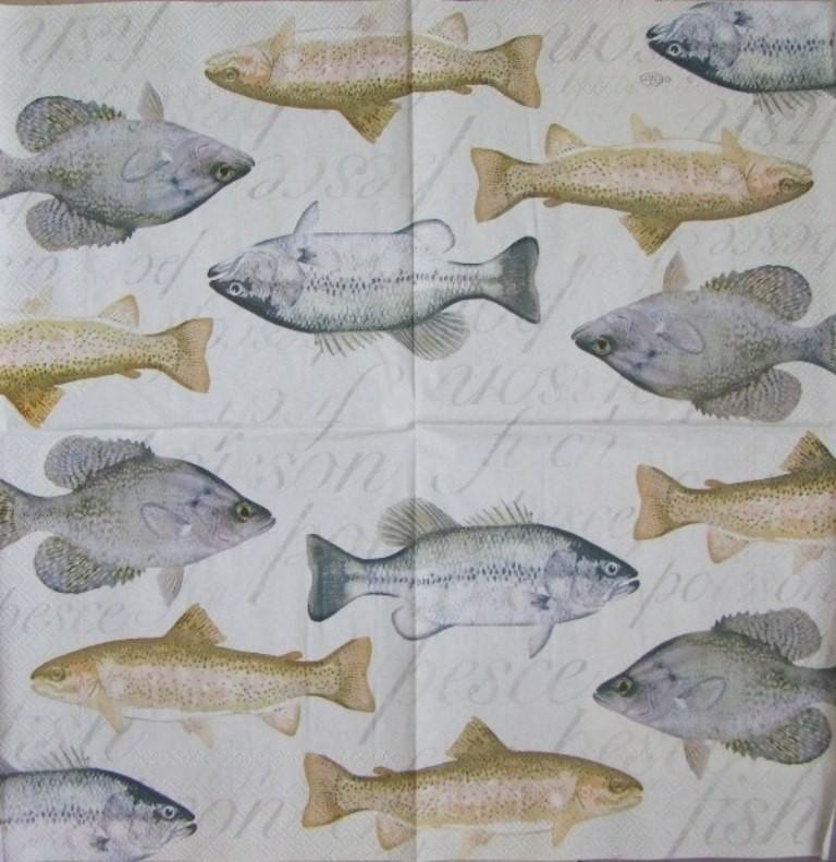салфетки рыбалка
