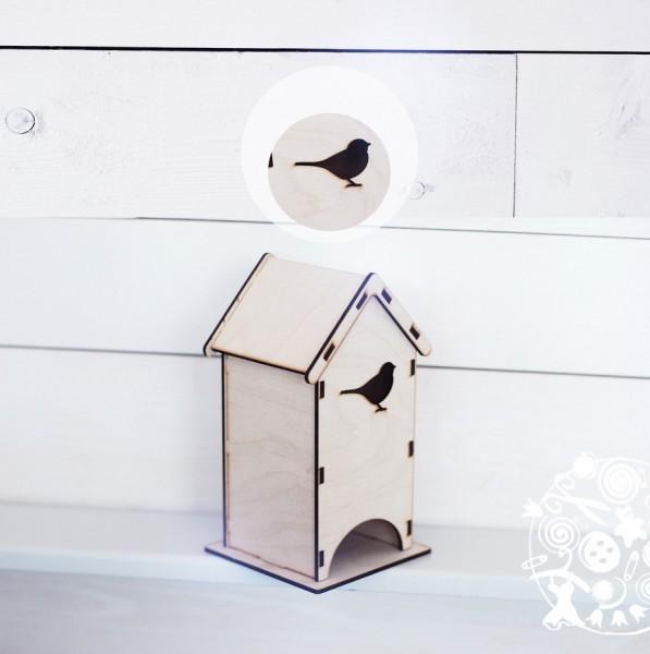 Чайный домик с птичкой