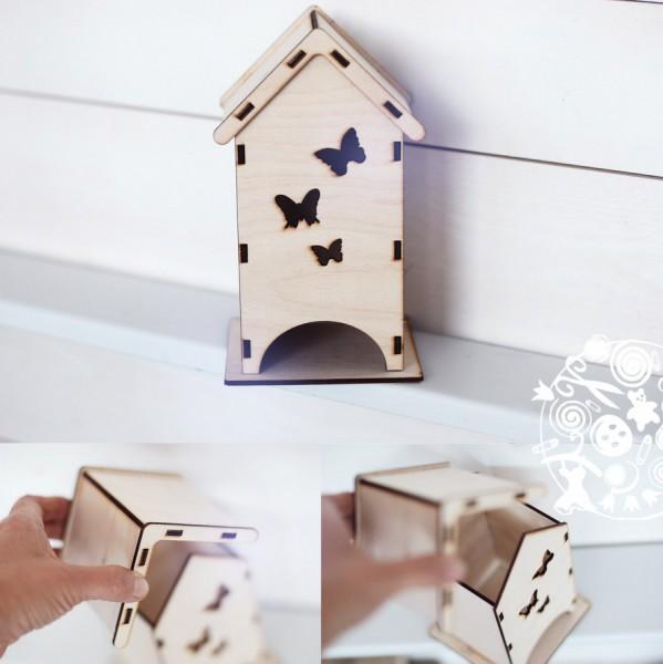 Чайный домик бабочками